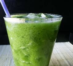 batido té verde