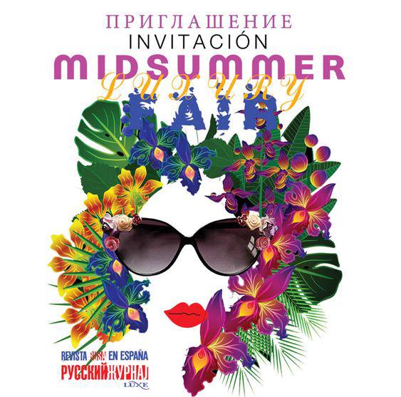 INVITACIÓN MID SUMMER INFUSIONES LATETERAZUL PHARMADUS BARCELONA