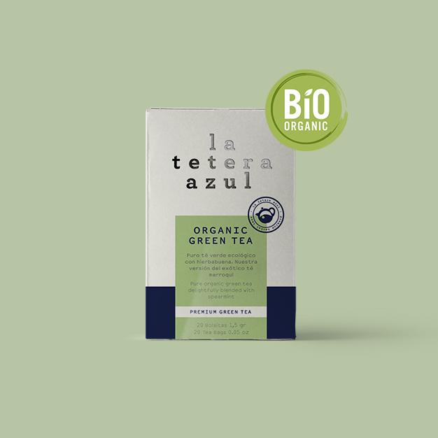 infusión té verde bio