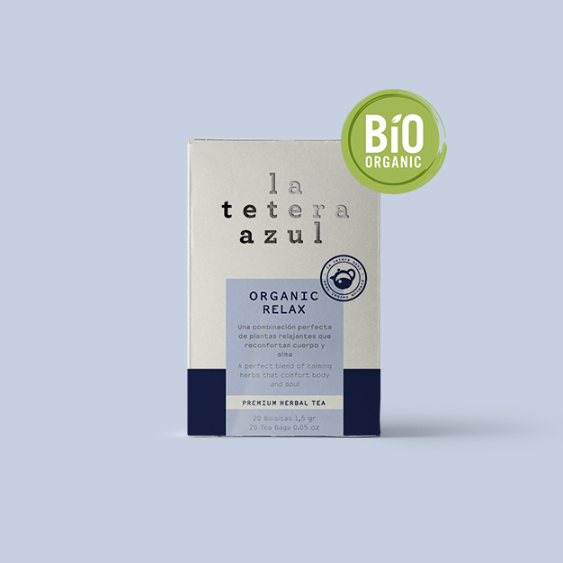 infusión organic relax la tetera azul